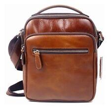 Genuine Leather Man Messenger Shoulder Bag Men Bag Small Business Bag BLE5795