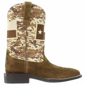 Ariat Sport Patriot Texas Square Toe   Mens  Boots   Mid Calf  - Size 8 D