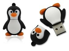 Cute Penguin bird animal 8GB USB 2.0 flash drive memory stick