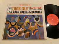 The Dave Brubeck Quartet Time Out LP Columbia 2 Eye Stereo Paul Desmond EX!!!