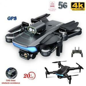 Drone 4k UHD Professional GPS Dual Camera Obstacle Avoidance FPV WIFI Quadcopter