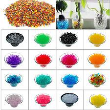 2500 Aqua Water Beads Gel Crystal Wedding Table Centerpiece Plant Vase Filler