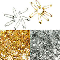 200-1000pcs 19MM Safety Pins Metal Sewing Fastening Small Mini Costume Baby