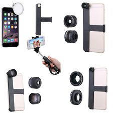 Accessory For iPhone 6 Plus Wide Angle 0.65X Macro Lens 2X Teleconverter 6S 7S