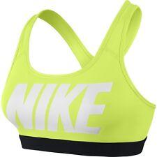 Nike Pro Classic Logo Women's Sports Bra,Volt