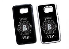 Samsung Galaxy Buchstabe B Hard Tasche Flip Hülle Case Cover Schutz VIP