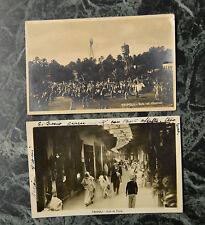 LOTTO 2 CARTOLINA TRIPOLI NON VIAGGIATE DEL 1934 1921 SUBALPINA KK