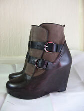 Bottines en cuir «Sandro» T : 38