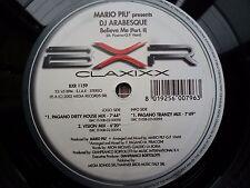 "Mario Piu Believe Mix Part II 12"" vinyl #274"