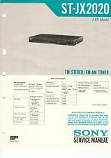 SONY Service Manual Konvolut ST-JX2020 JX4040 - B2083