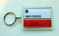 Suzuki GS1000S Wes Cooley édition limitée couleur bleu ou rouge Assorti Porte-clés