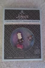 Jolee's Jewel Swarovski Elements Slider Small Stone Aquamarine 4 pieces New