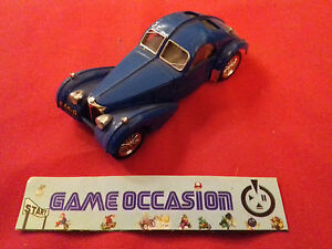 Brumm Bugatti 57 S Blue Exk - G Car Plastic Metal Car 1/43