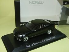 MERCEDES CLASSE C 250 COUPE 2011 Noir NOREV 1:43