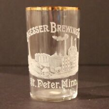 Engesser Brewing Etched Glass - St. Peter Mn