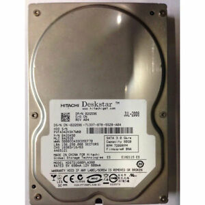 "0A33450 - Hitachi 80GB 7200 RPM SATA 3.5"" HDD"
