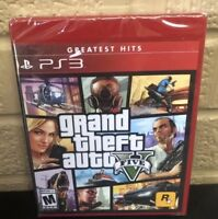Grand Theft Auto V 5 Five (PlayStation 3) BRAND NEW & SEALED!!!! GTA5 online ps3