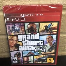 Grand Theft Auto V 5 Five (PlayStation 3) Brand New & Sealed! Gta5 online ps3
