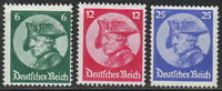 Stamp Germany Mi 479-81 Sc 398-400 1933 3rd Reich Potsdamn Great Friedrich MNH