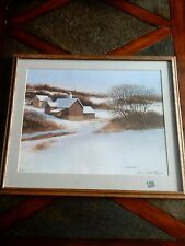 James Peter Cost Signed Artist Proof Print , 1923 - 2002