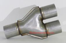 "3"" / 3"" Y Pipe Universal Custom Exhaust Aluminized Y3001"