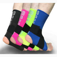 New Elastic Ankle Support Brace Sport Gym Train Pad Strap Breathable Foot Wrap