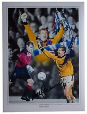 Andy Goram SIGNED autograph 16x12 HUGE photo Glasgow Rangers Football AFTAL COA