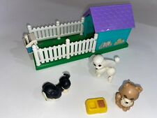 Vtg Kenner 1992 LITTLEST PET SHOP PUPPY PALS Playhouse Set Doghouse Playset