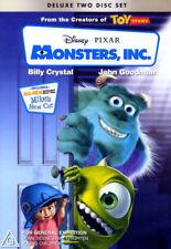 Monsters, Inc. - Billy Crystal, John Goodman - Deluxe 2 DVD Disc Set