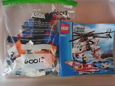LEGO City 60013 Coast Guard Helicopter Complete Town Rescue