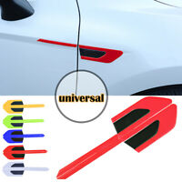 Red Car Reflector Reflective Sticker Warning Strip Fender Door Edge Universal