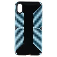 Speck Presidio Glossy Grip Series Case for Apple iPhone XS Max - Black / Blue