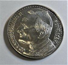 Medaille o.J. Papst Johannes Paul II. An XV PAX IN NOMINE DOMINI Stgl/unc+Kapsel