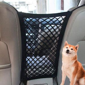 Car Pet Barrier Mesh Dog Car Safety Travel Isolation Net Pet Car Back SeatBYUBI