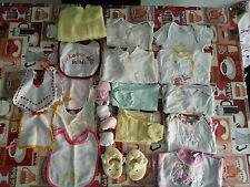 Lotto 253 stock 26 pezzi bimba bambina neonata 0-3 mesi