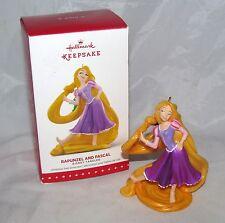 Disney Princess Rapunzel and Pascal Figure Figurine Tangled Hallmark Ornament