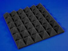 12 Pack of (12x12x2)Inch Acoustical Pyramid Foam Panel for Soundproofing Studio