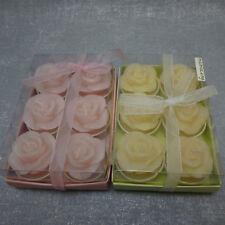 Formano Deko Teelichter Kerze Rose rosa gelb Ostern Frühling Muttertag Hochzeit