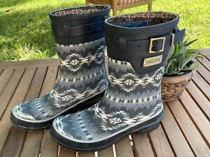 Pendleton Heritage Short Papago Park Boot Rain Women's Size 7