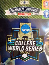 Official Licensed NCAA 2017 Men's College Baseball World Series Patch