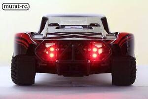 Rear LED Light For RPM Bumper Traxxas Slash 1/10 4x4 2WD waterproof by murat-rc