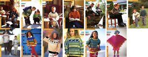 Dale of Norway Children's Pattern Leaflets NOS