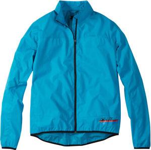 Madison Flux Super Light Mens Packable Shell Jacket - Hawaiian Blue - Large