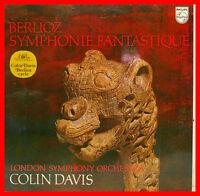 "Berlioz Symphony Fantastique London Symphony Colin Davis 12 "" LP (B755)"