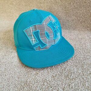 DC Shoe's Aqua Blue 210 Fitted By Flex Fit Cap Size 6 7/8- 7 1/4