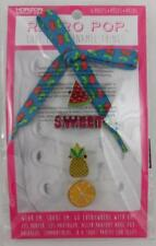 Retro Pop Little Enamel Things New Fruits Theme ShoesLace and Charms