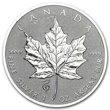 2013 Canada 1 oz Silver Maple Leaf Lunar Snake Privy - SKU #74115