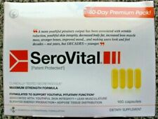 SeroVital Dietary Supplement 160 Capsules - 40 days supply - EXP 2023