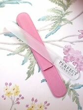 Perfect Formula Crystal Nail File ~ Full Size in Pink Sleeve ~ 1st Class Post!