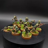 Pro painted 28mm ww2 Australian commandos squad ×10 Bolt Action